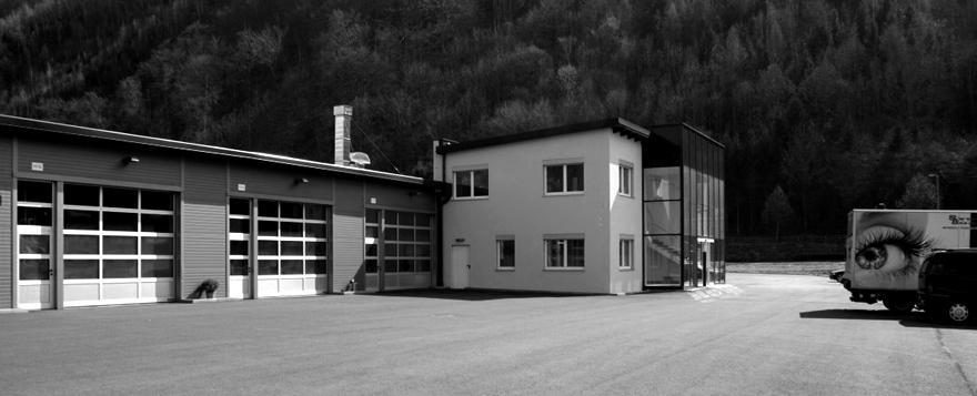 System Box Firmengebäude